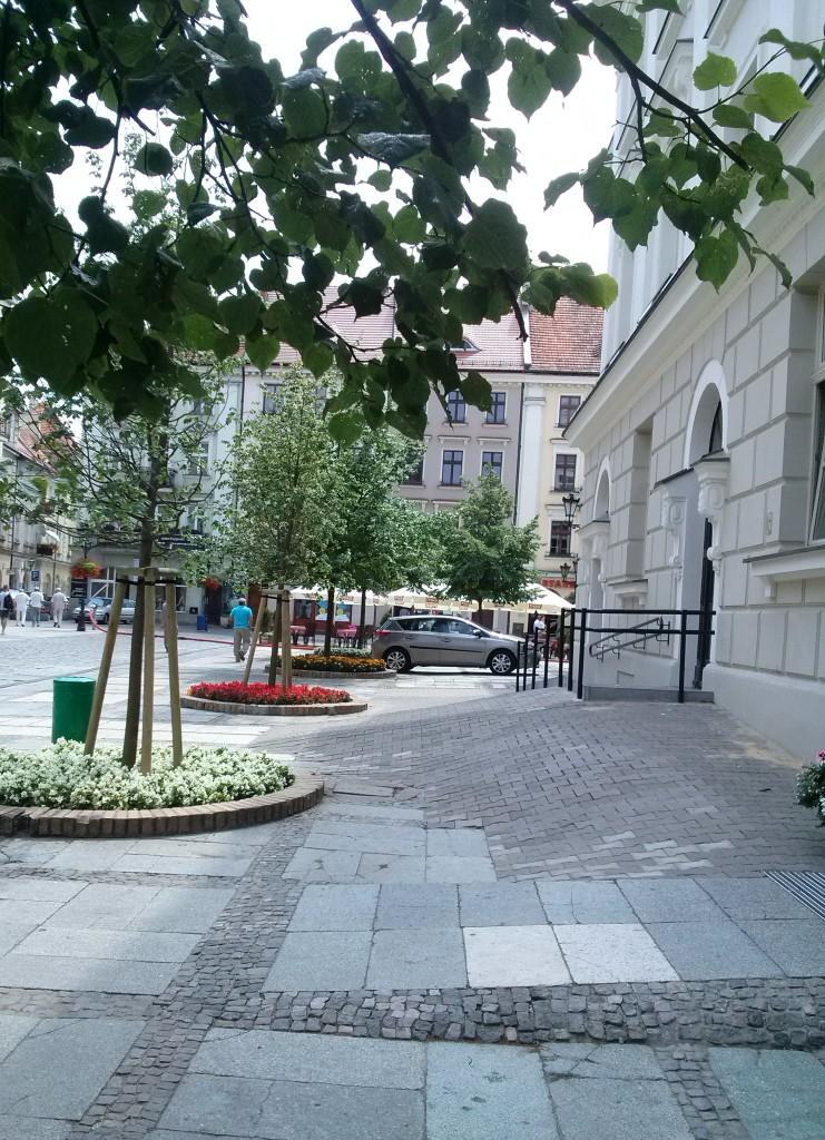 Nawet w centrum miasta jest zupełnie pusto